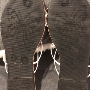 BABE Shoes - BABE sandles with white straps